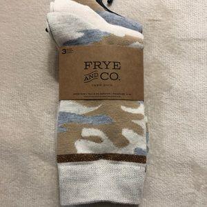 Frye crew Socks Set of 3